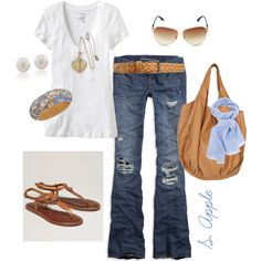 Out and About in Style..., created by sapple324 on Polyvore