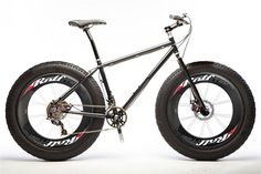 A great idea to make the fat bike one step closer to Tour de France ready.