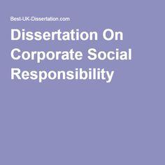 csr dissertation
