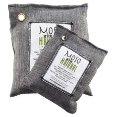 Moso Bamboo Charcoal Bags- we'll see how these work around the litter box