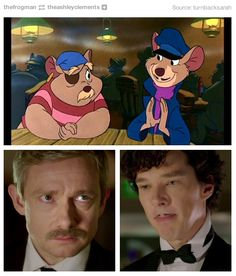 So that's why Moffat and Gatiss made them have mustaches.