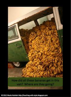Banana van