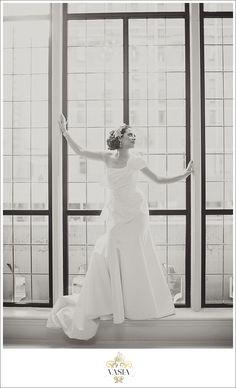 Fairmont Hotel Vancouver: Styled Wedding Inspiration - HOT Damn! She's family!
