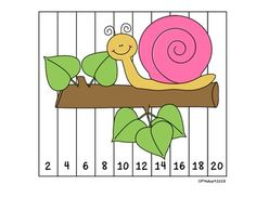 {FREEBIE} These number puzzles are great for students to practice ordering numbers and can be used at your centers or as an activity to enhance your small learning group. I like to have these sitting at my small math group table and students get started on these as everyone arrives. They are self corrective so they can be used individually or in the small group.