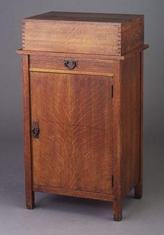 Gustav Stickley Cabinet