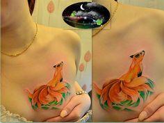 True Art Of Peace: nine tailed fox