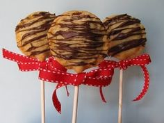 Pie Pops maybe tie with a yellow ribbon???