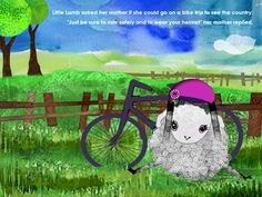 Little Lamb in Amsterdam ebook: Beautiful as any regular book and interactive feature teach kids about Holland.
