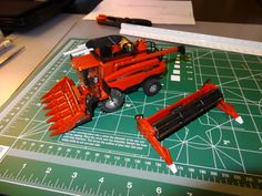 Case IH 5088 Axial-Flow custom project.  See custom farm toy projects each week on Toy Tractor Times's Work Bench Wednesday on Face Book at https://www.facebook.com/pages/Toy-Tractor-Times/325316476894