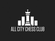 "Edgar Briseno  Logo concept for the hip-hop group ""All City Chess Club."" The logo mimics a city skyline as well as audio equalizer bars."