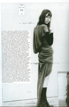 Rick Owens Revillon s/s 2005 collection