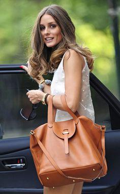 Meli Melo thela bag in tan