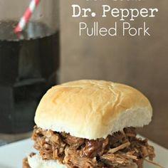 Slow Cooker Dr. Pepper Pulled Pork Recipe
