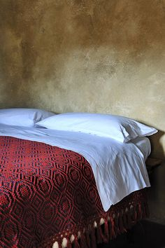 handmade fabrics at Sextantio Albergo Diffuso.
