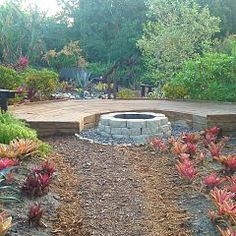 fire pits, yard idea, acrefront yard, low moi, front yards