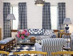 Window Treatments - Draperies and Curtains - Country Living