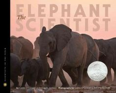 Describes the work and observations of American scientist Caitlin O'Connell during her studies of the African elephant in Etosha National Park in Nambia. Grades 6 & Up. Book: http://iii.ocls.info/record=b1786337~S1.