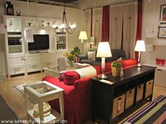 Family Room Decorating Ideas   IKEA Living Room and Family Room Decorating, Serenity Now blog