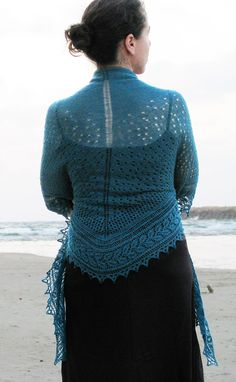 Lace shawl with pattern= beautiful!!!