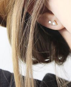 Trillion Diamond Ear