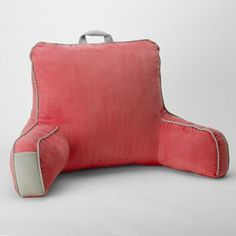 Simple by Design Faux-Suede Backrest Pillow