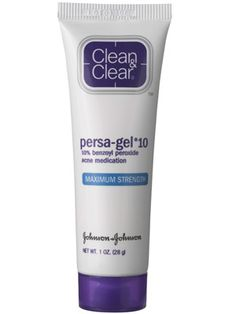 Clean & Clear Persa-Gel 10... my go-to product for blemishes
