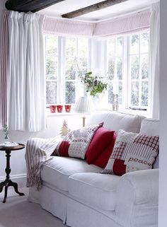 Festive living room