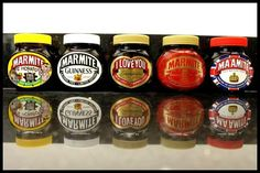 Well actually its Marmite...innit