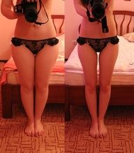 fitness / Sorry for the skimpy underwear! some results ive been seeing from this diet!