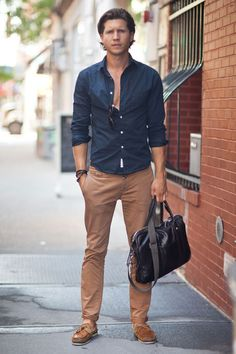 Unbuttoned Summer City Casual