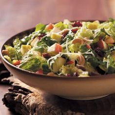 I also fixed this salad for our Christmas Dinner and WOW was it good.  Holiday Lettuce Salad