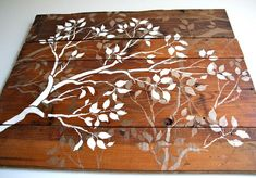 DIY Wood Crafts : DIY Barn Wood and Branches Wall Art