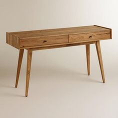 One of my favorite discoveries at WorldMarket.com: Lawrence Console Table