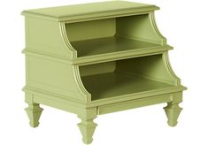 Belmar Green Step Nightstand at Rooms To Go.