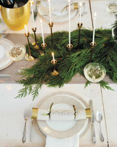 Setting A Winter Table
