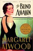 """Blind Assassin by Margaret Atwood - The book opens with these words: """"Ten days after the war ended, my sister drove a car off the bridge."""" They are spoken by Iris, whose terse account of Laura's '45 death is followed by amreport proclaiming the death accidental. Then Atwood introduces a novel-within-a- novel, a science fiction story told by 2 unnamed lovers. When we return to Iris, it is through a newspaper article announcing the discovery of a sailboat carrying the dead body of her husband."""