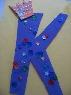 Letter of the week ! K k ! | No Time For Flash Cards - Play and Learning Activities For Babies, Toddlers and Kids