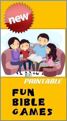 PRINTABLE FUN BIBLE GAMES Skip the shipping. Just download, print and play!