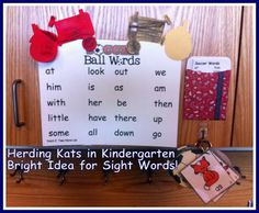Bright Idea for Sight Words