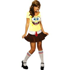 Sponge Babe Adult Halloween Costume