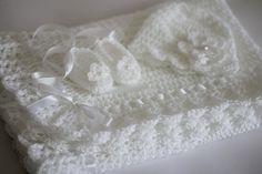 Christening-Blanket-Crochet-Pattern- | eBay