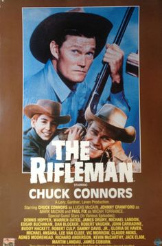 The Rifleman Original TV Poster Chuck Connors vintage classic