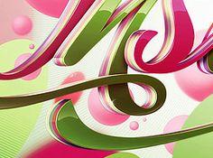 http://www.shinybinary.com/ with great digital art.