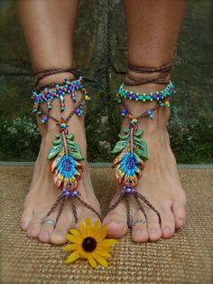 NEON ANKLET beaded ankle bracelet BOHO jewelry stackable anklets/bracelets barefoot sandals slave anklets