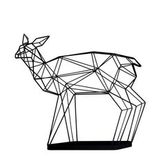 Umbrella stand deer