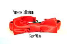 Snow White inspired Running Headband on Etsy, $15.00