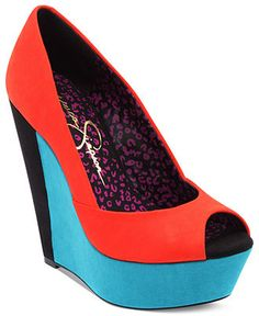 JESSICA SIMPSON #shoes #wedge #heel #color BUY NOW!