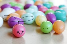 plastic easter egg crafts