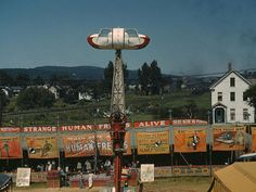 "At the Vermont state fair, Rutland. Sept. 1941. Caption information from ""The Library of Congress"" on Flickr. Rare color photos from 1930s-40s"