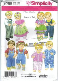 Free Copy of Pattern - Simplicity 4268